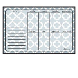 Lattice Magnetic Dry Erase Weekly Calendar