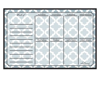 Lattice Magnetic Dry Erase Weekly Calendar