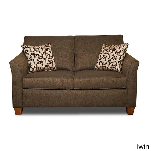 Wondrous Shop Chocolate Chenille Fabric Hide A Bed Sleeper Sofa Dailytribune Chair Design For Home Dailytribuneorg