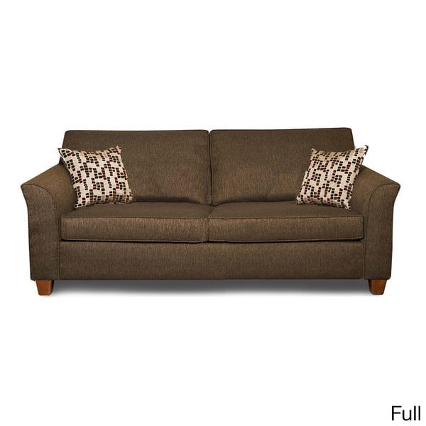 Admirable Shop Chocolate Chenille Fabric Hide A Bed Sleeper Sofa Dailytribune Chair Design For Home Dailytribuneorg