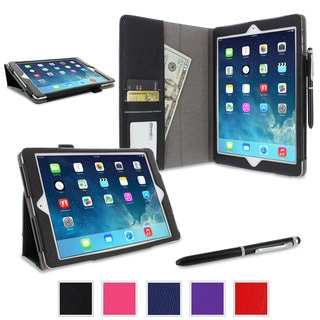 rooCASE Dual Station Folio Case Smart Cover with Stylus for Apple iPad Air (5th Generation)