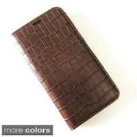 Handmade Premium Leather Wallet Case Cover Diary for Samsung Galaxy S5