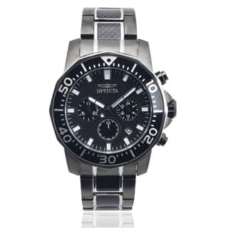 Invicta Men's 17257 Stainless Steel 'Pro Diver' Chronograph Watch|https://ak1.ostkcdn.com/images/products/9246310/P16412242.jpg?impolicy=medium