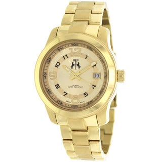 Jivago Women's Infinity Goldtone Stainless Steel Watch