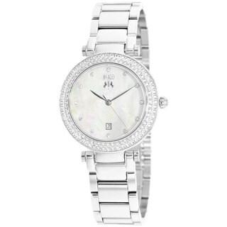 Jivago Women's Parure Silvertone Stainles Steel Watch