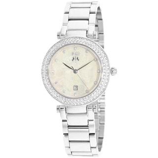 Jivago Women's Parure Silvertone Stainless Steel Watch