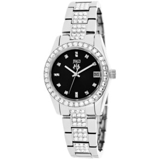 Jivago Women's Magnifique Silvertone Stainless Steel Watch