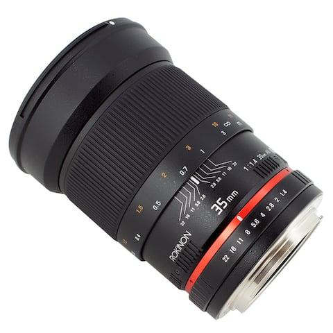 Rokinon 35mm F1.4 AS UMC Wide Angle Cine Lens
