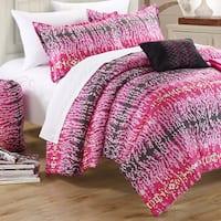 Chic Home Techno Printed 9-piece Dorm Room Bedding Set