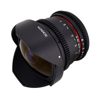 Rokinon 8mm T3.8 AS IF MC CSII DH Cine Fisheye Lens II with Removable Hood