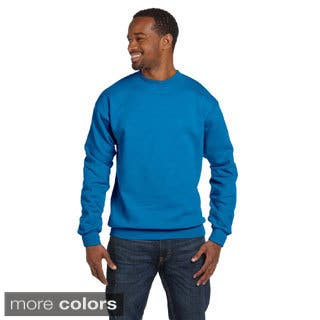 Gildan Men's Premium Cotton 9-ounce Ringspun Crew Pullover|https://ak1.ostkcdn.com/images/products/9246436/P16412390.jpg?impolicy=medium
