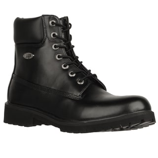 Lugz Men's 'Convoy' Black Water Resistance Lace-up Boots