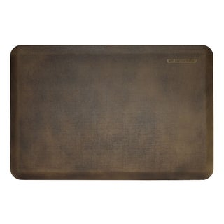 WellnessMats Antique Dark Motif Linen Anti-Fatigue Mat