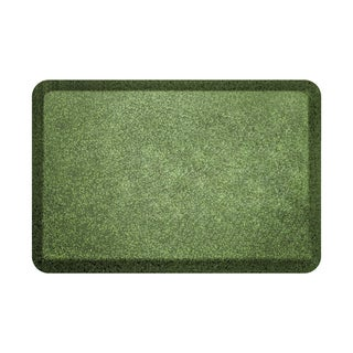 WellnessMats Original Smooth Granite Emerald Anti-Fatigue Floor Mat