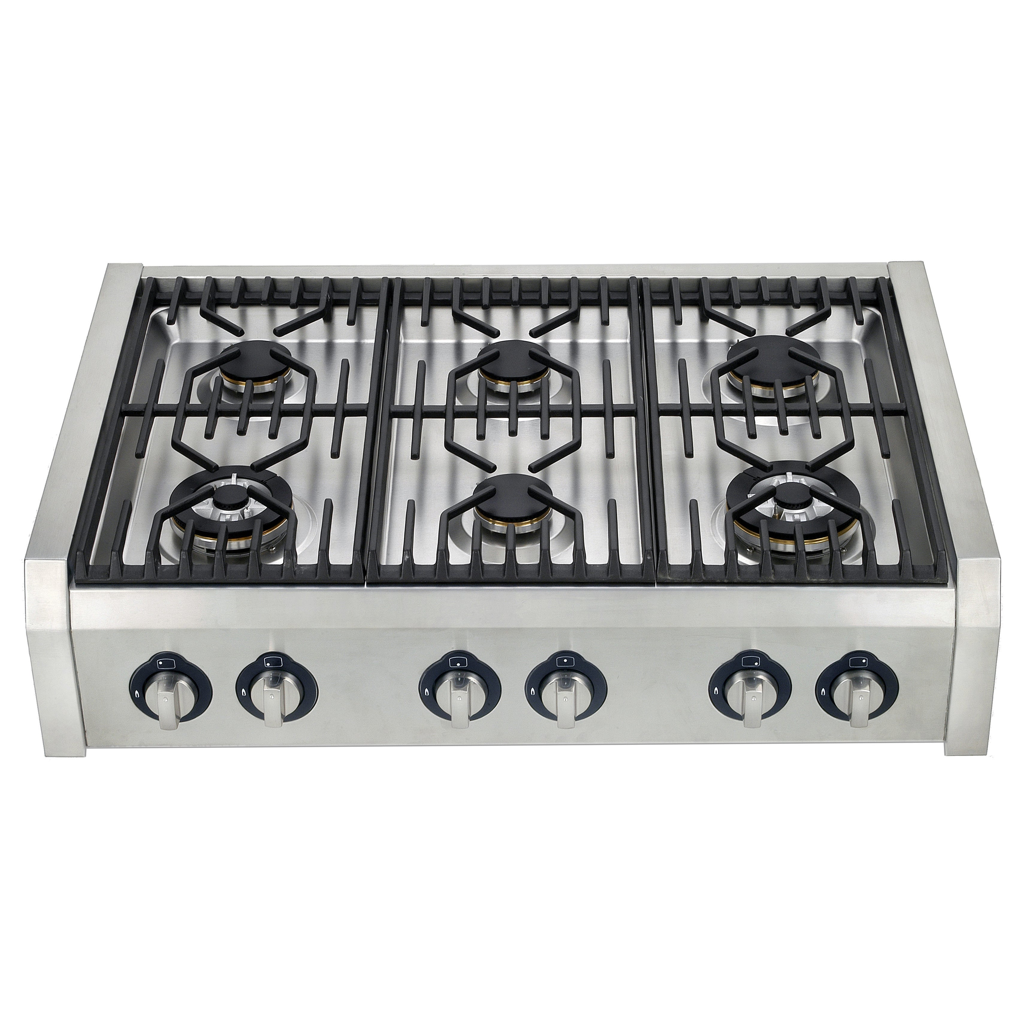 Professional Style 36 Inch Range Top