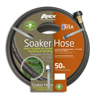 Teknor Apex Soil Soaker 50-foot Flexible Hose