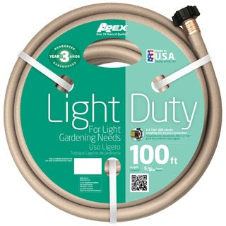 Teknor Apex Light Duty 100-foot Garden Water Hose