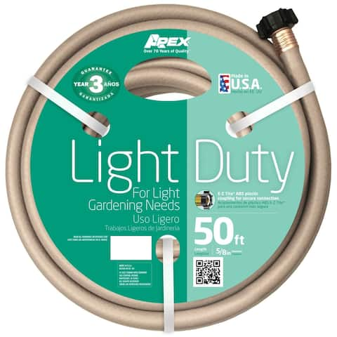 Teknor Apex 50-foot Light Duty Garden Water Hose