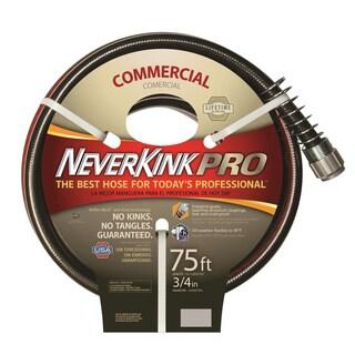 Neverkink PRO Red/ Black 75-foot Hose