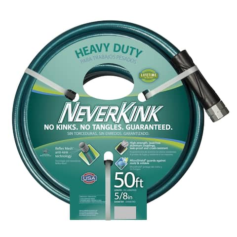 Neverkink Teal/ Grey 50-foot Hose