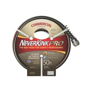 Neverkink PRO Black/ Red 50-foot Hose