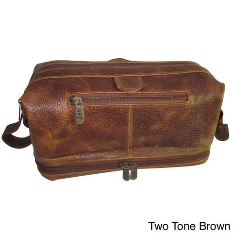 Amerileather Cosmetic Toiletry Bag with Bonus Accessories