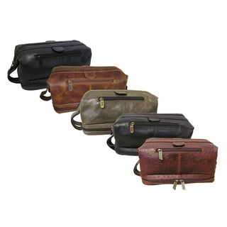 Amerileather Cosmetic Toiletry Bag with Bonus Accessories