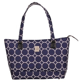Jenni Chan Aria Park Avenue Navy 15-inch Laptop Tote