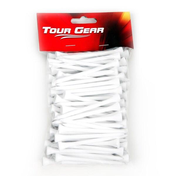 Hireko 2.75-inch White Wooden Golf Tees (Pack of 100)