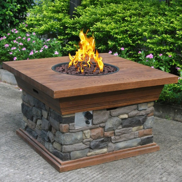 Phat Tommy Yosemite Propane Fire Pit Free Shipping Today