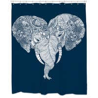 Punch Trunk Love Shower Curtain