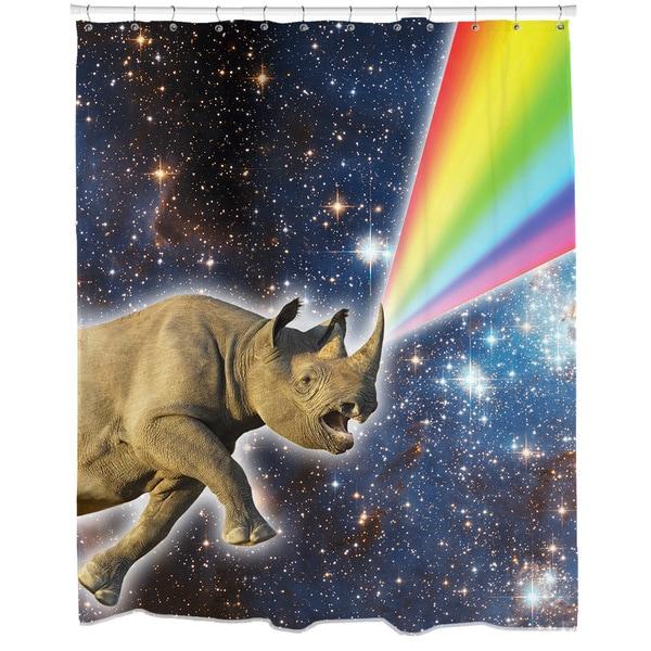 Rhinocorn Shower Curtain