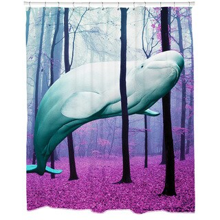 20,000 Leagues Under The Trees Shower Curtain