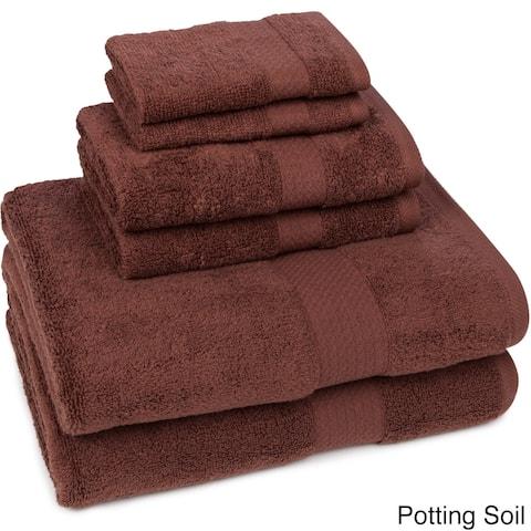 Crown Pointe Quick Dry 6-piece Towel Set