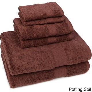 Crown Pointe Quick Dry 6-piece Towel Set