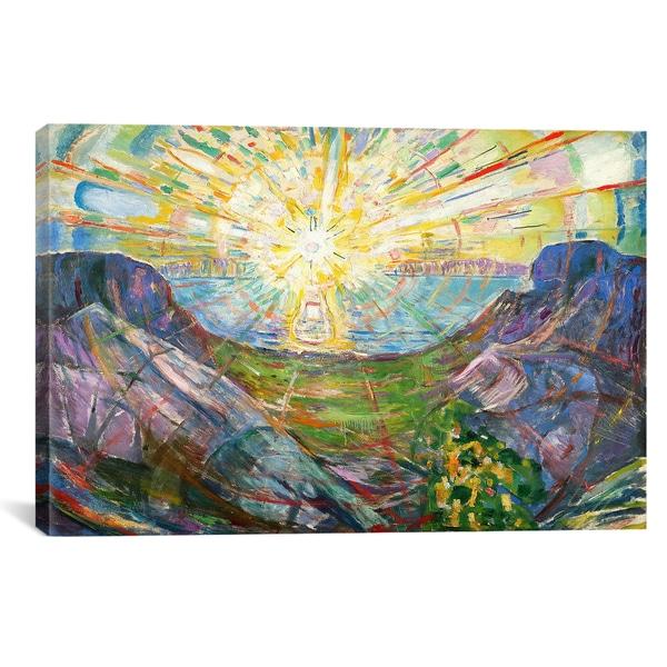 iCanvas ART Edvard Munch The Sun, 1916 #2 Canvas Print Wall Art