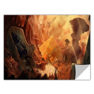 Luis Peres 'Monuments of Mars' Removable Wall Art Graphic