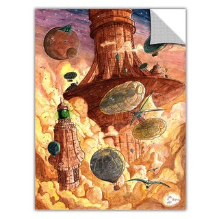 Luis Peres 'Rusting World' Removable Wall Art Graphic