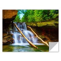 Cody York 'Brecksville Falls' Removable Wall Art Graphic - Multi