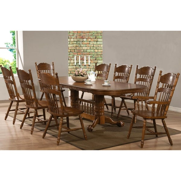 Country Style Dining Room Furniture: Trieste Windsor Country Style Dining Set