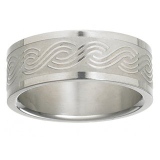Men's Titanium Weave Band