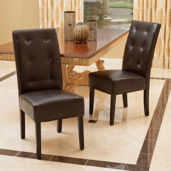 Mira Dining Chair Set of 2 by Christopher Knight Home