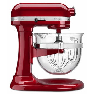 KitchenAid KF26M22CA Candy Apple 6-quart Pro 600 Design Series Stand Mixer with $50 Rebate