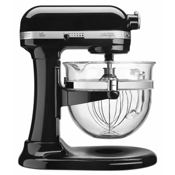 shop kitchenaid kf26m2cob onyx black 6 quart bowl lift pro 600 rh overstock com