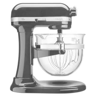 KitchenAid KF26M2COB Onyx Black 6-quart Bowl-Lift Pro 600 Design Series Stand Mixer