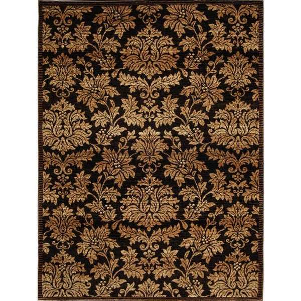 Home Dynamix Triumph Collection Traditional Brown-Gold Area Rug (5'2 x 7'6) - 5'2 x 7'6