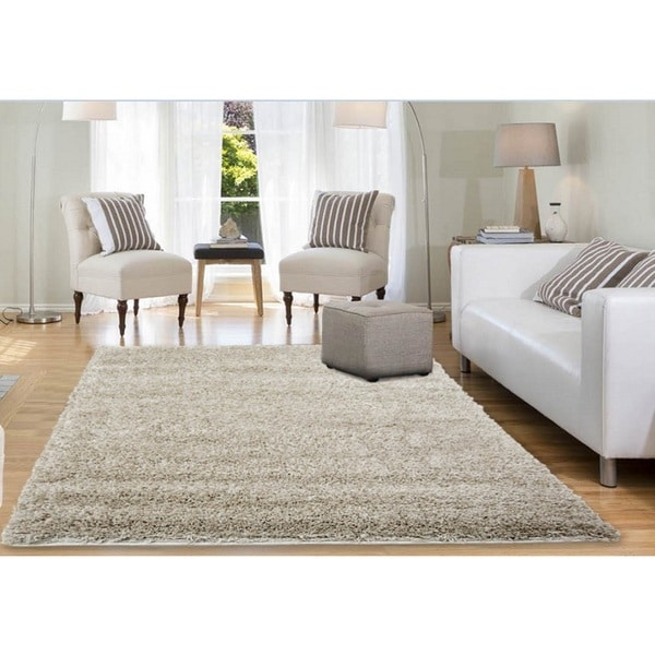 Home Dynamix Himalaya Collection Contemporary Beige Area Rug (5'3x7'7)