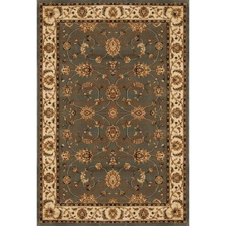 Home Dynamix Triumph Collection Grey-Beige Machine Made Polypropylene Area Rug (7'10 x 10'10)
