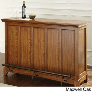 Greyson Living Maxwell Home Bar with Foot Rail