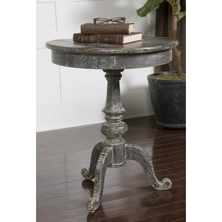 Uttermost Cadey Charcoal Side Table